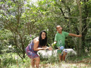 Miguel e Liliamara 27 jan aroeira